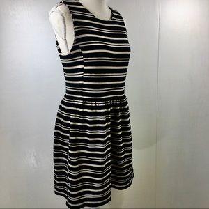 Madewell Sleeveless Striped Dress with Pockets. M